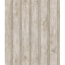 Brewster 402-41389 Kitchen and Bath Resource II Beadboard Wallpaper, 20.5-Inch by 396-Inch, Neutral