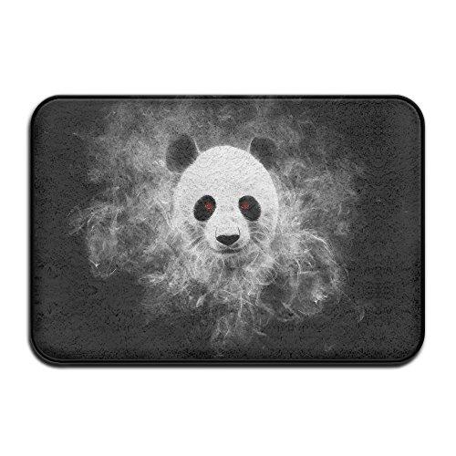 Door Floor Mat Area Rug Anti-Skid Foot Pad Panda Killer Water Absorption Doormats For Home Indoor Outdoor Kitchen Bathroom Entry Clean -