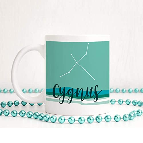 Cygnus Mug Constellation Coffee Gift For Her Birthday