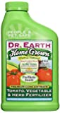 Dr. Earth 1012 Home Grown Tomato, Vegetable and Herb Fertilizer, 24-Ounce