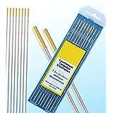 10 pcs of 3/32″7″(2.4175mm) WL15 Gold 1.5% Lanthanated Tungsten TIG Electrode (ETA:7-12 WORK DAYS)
