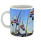 49er coffee cup - Westlake Art - Coffee Cup Mug - Racing Water - Modern Picture Photography Artwork Home Office Birthday Gift - 11oz (a108z)