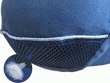 Babimax Gorra de Seguridad Gorra de Béisbol con Casco Duro para Trabajo: Amazon.es: Bricolaje y herramientas