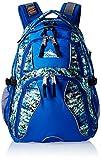 High Sierra Swerve Backpack, Python/Vivid Blue/Black