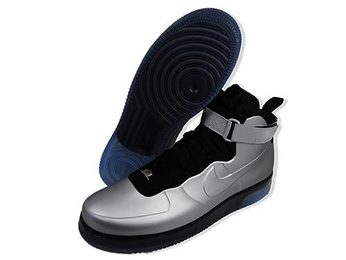 Air 1 Force Silver Sneakers Nike Foamposite 415419 Metallic 002 7Y6gvybf