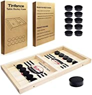 Tinfence Fast Sling Puck Game Paced Tabletop Board Game,Winner Board Games Toys for Adults Parent-Child Intera