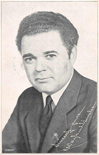 Charles Wayland Brooks Illinois Senator Political Campaign Postcard - Brook Illinois