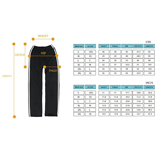 myglory77mall One Line Running Jogging TrackSuit Warm Up Pants Gym Training Wear