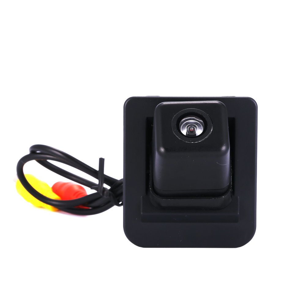 Greatek Colore Retrocamera di parcheggio, telecamera di retrovisione con linee di griglia come luce targa per S E C Klasse S400 X204 W204 W212 W221 W216
