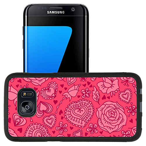 Luxlady Premium Samsung Galaxy S7 Edge Aluminum Backplate Bumper Snap