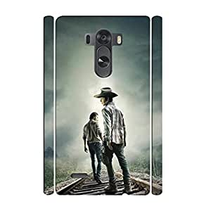 Funny Design Rick Grimes - the Walking Dead LG G3 5.5 Inch Case, Not for G3 Vigor