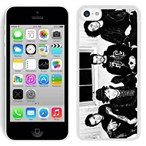 Beautiful And Unique Designed Case For iPhone 5C With Fall Out Boy White Phone Case