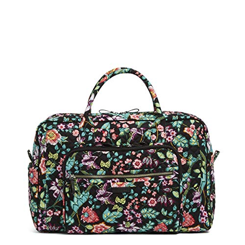 Hollywood Floral Jewelry - Vera Bradley Iconic Weekender Travel Bag-Signature, Vines Floral