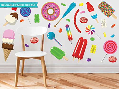 Sunny Decals Candy Fabric Wall