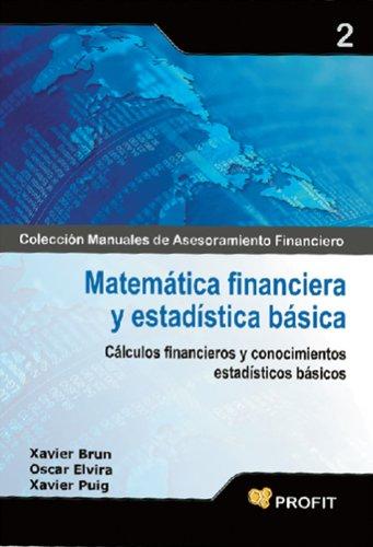 Descargar Libro Matemática Financiera Y Estadística Básica Xavier Brun Lozano