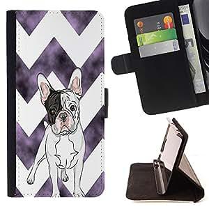 - Ocean Seas - - Prima caja de la PU billetera de cuero con ranuras para tarjetas, efectivo Compartimiento desmontable y correa para la mu?eca FOR Apple iPhone 6 6S 4.7 King case