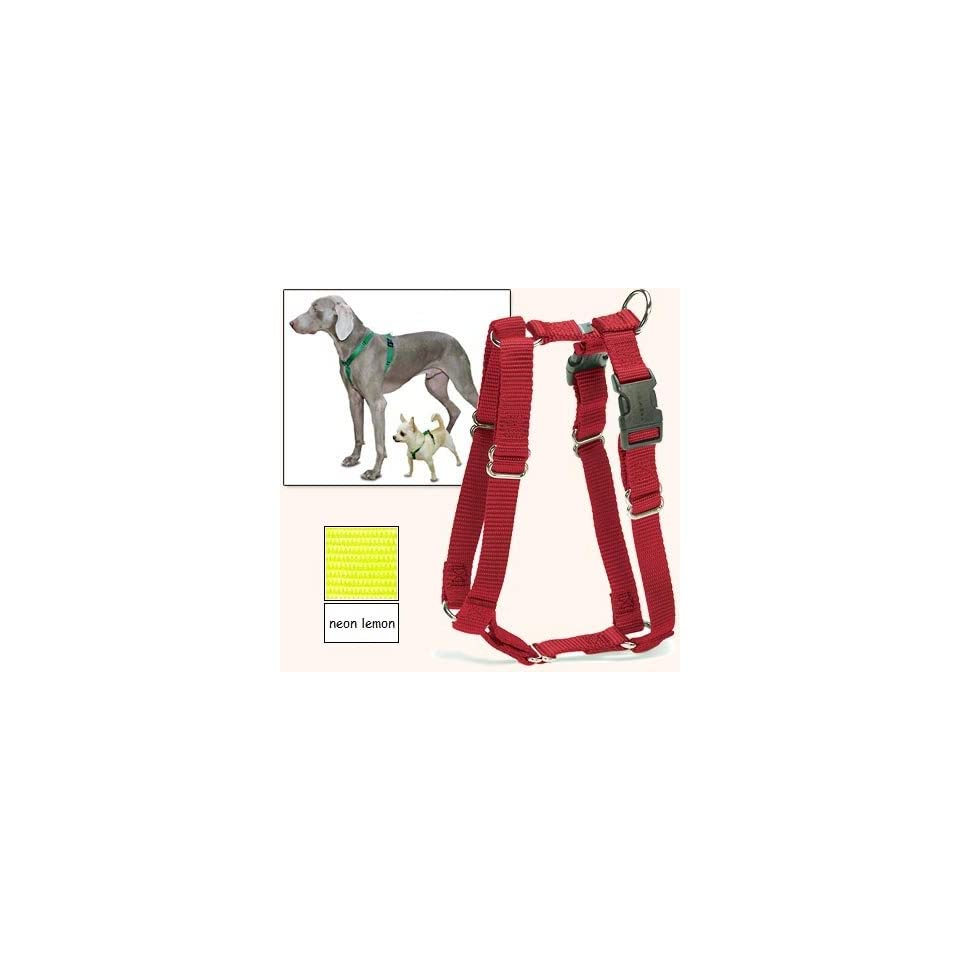 Sure Fit Dog Harness, 5 Way Adjustability for a Perfect Fit (Neon Lemon, X Petit)