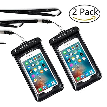 best loved 7fd9f 0a0d5 Waterproof Cases,Universal Waterproof Case, IPX8 Waterproof Phone Pouch Dry  Bag for iPhone8/8plus/7/7plus/6s/6/6s plus Samsung galaxy s8/s7 Google ...