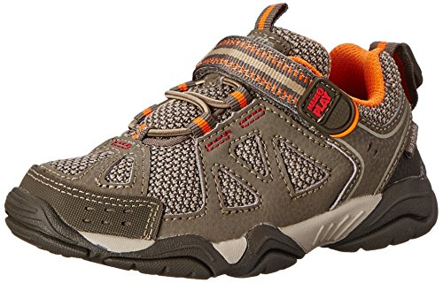 Stride Rite Made 2 Play Ian Sneaker ,Taupe,12.5 W US Little