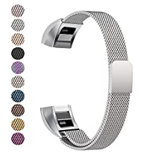 Fitbit Alta Band, Fitbit Alta HR Bands, Soulen Milanese Replacement Metal Band for Fitbit Alta / Fitbit /Fitbit Bands / Fitbit Alta Accessories / Fitbit Alta Band