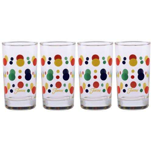 Fiesta Glassware, 7-Ounce Juice Glass, Set of 4 51eLxLcqFmL