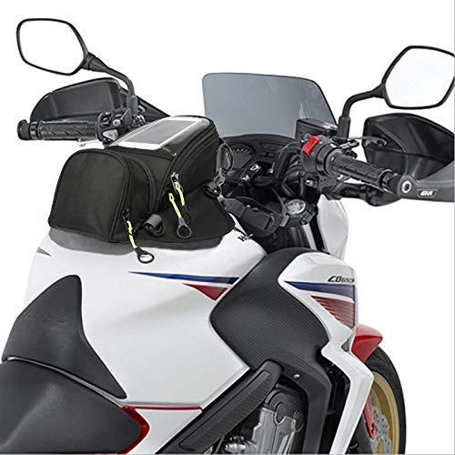 Semoic Bolsa de Combustible Nueva Motocicleta Bolsa de Navegaci/ón para Tel/éfono M/óvil Paquete de Dep/ósito de Aceite Peque?o Multifuncional Fijo Magn/ético Correas Fijas