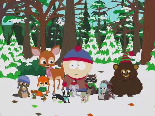 Woodland Critter Christmas (Park Christmas Critter South Woodland)