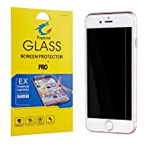 iPhone 7 Plus Screen Protector Tempered Glass,Ultra Slim Thin Clear Bubble Free Anti-Scratch Anti-Fingerprint Oil Resistance 9H Hardness Curved Film for iPhone 7 Plus