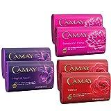Camay Mixed Bar Soaps: 6 Bars x 150g