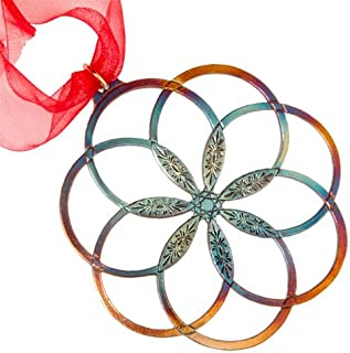 product image for 7 Rings of Peace Ornament with Ribbon