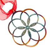 7 Rings of Peace Ornament with Ribbon