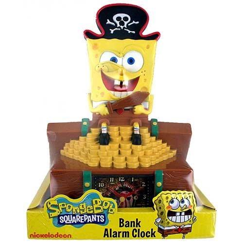 Sponge Bob Bank Alarm Clock
