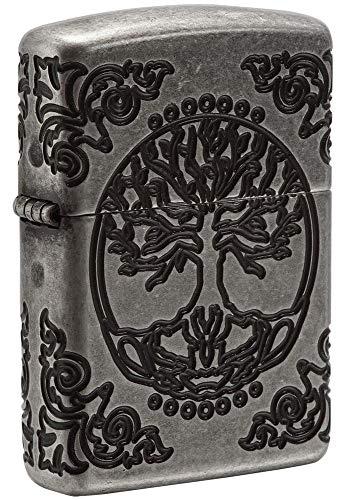 Zippo Armor Tree of Life Design Pocket ()