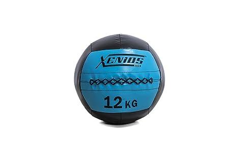 Xenios USA XSBCWBL12 Balón Medicinal - Wall Ball - 12 kg: Amazon ...