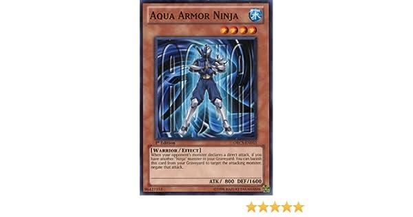 Yu-Gi-Oh! - Aqua Armor Ninja # 15 - Order of Chaos - 1st Edition - Common