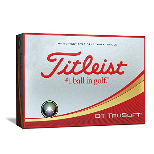 Titleist DT TruSoft Golf Balls, White  (One Dozen) from Titleist