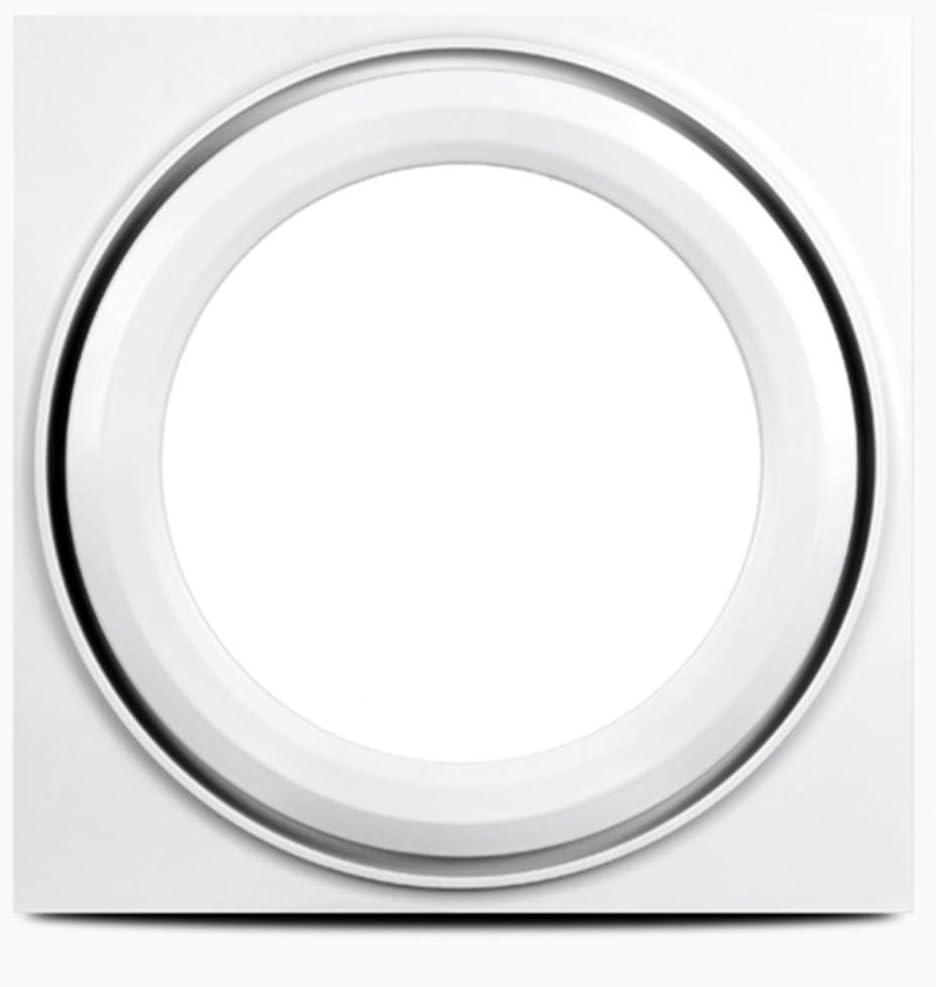 JJZXT Extractor de Aire, baño Ventilador de Techo de Montaje de Escape de ventilación Sones, Blanca de Alta Potencia (Color : B)