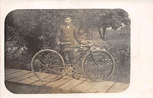 Boy with bicycle Clyde Harper Photo, Chesterfield, Illinois, IL, - Kids Chesterfield