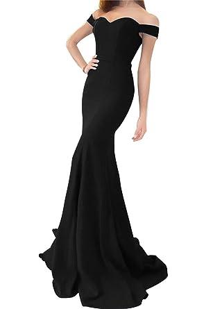 LiCheng Bridal Off the Shoulder Mermaid Wedding Dresses Sweetheart ...