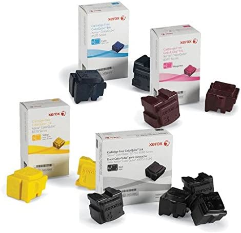 Xerox 8570 8580 108R00926 108R00927 108R00928 108R00930 1 ink per color 4 cube