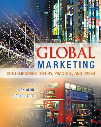 Global Marketing ISBN-13 9780078029271