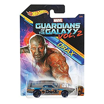 Hot Wheels 2017 Guardians of the Galaxy 1:64 Vol. 2 (Rivited (Drax))