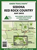 Sedona - Red Rock Country: Including Slide Rock and Red Rock State Parks (Hiking / Mountain Biking / Equestrian Trails, 2805S)