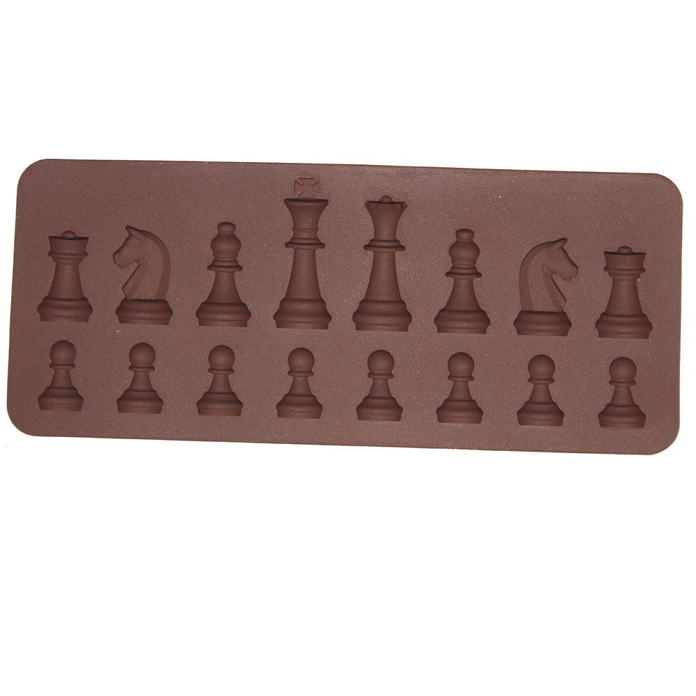 Amazon.com: Gessppo _ Home and Kitchen New Silicone Cake Mold 3D International Chess Cake Chocolate Sugar Craft Mould Mold Tools for Birthday Party: Home & ...