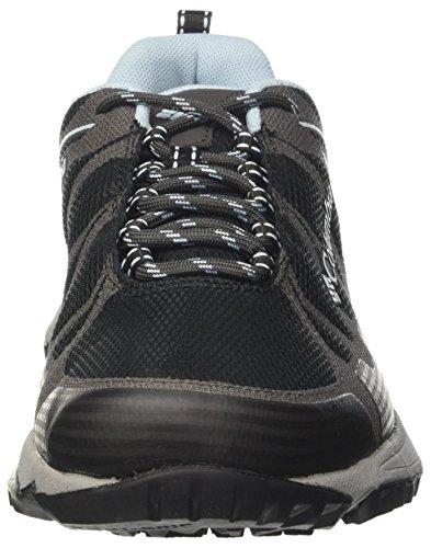 Columbia Vrouwen Sneakers, Waterdicht, Samenzwering Tegen Zwart (zwart, Zuurstof)