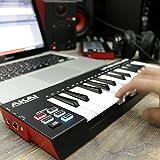 Akai Professional LPK25 WIRELESS 25 Mini-Key Bluetooth MIDI Keyboard for iOS, PC, and Mac
