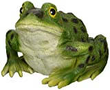 Design Toscano Ribbit the Frog, Garden Toad Statue