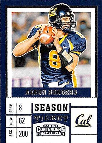 the best attitude a9d57 d8213 Aaron Rodgers football card (California Golden Bears Cal ...