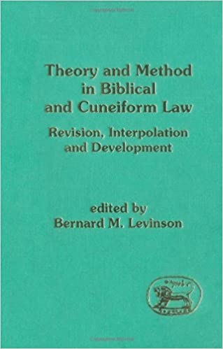 Theory and Method in Biblical and Cuneiform Law Revision