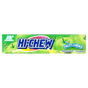 [Pack 6] Hi-Chew Apple Flavor candy